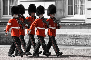 Changing the guard - Buckingham Palace